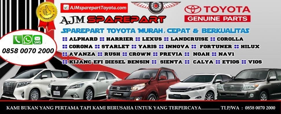 toko AJM toyota,onlineshop Sparepart Toyota termurah dan terpercaya